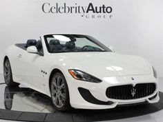 2013 Maserati Gran Turismo Sport Convertible 2-Door 2013 MASERATI GRAN TURISMO CONVERTIBLE Truck Videos For Kids, Luxury Cars For Sale, Truck Coloring Pages, Maserati Granturismo, Trucks For Sale, Exotic Cars, Convertible, Vehicles, Sports