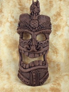 Tiki Mask by Sherman Oberson