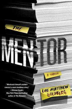 mentor Lee Matthew Goldberg best mystery thriller book covers 2017
