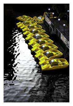yellow boat by stopi, via Flickr