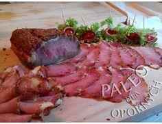 Kuchnia Paleo dla opornych : Dwutygodniowa surowa suszona szyneczka