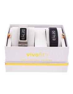 Garmin Garmin Vivofit 2 Fitness Tracker, GA003BS-BR Women's Silver
