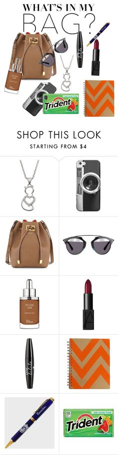 """""""Thats literally my backpack"""" by tiana-d-aniyah ❤ liked on Polyvore featuring Casetify, Michael Kors, Christian Dior, NARS Cosmetics, NYX and inmybag"""