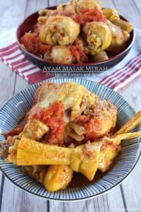 Ayam Masak Merah – Chicken in Tomato and Spices