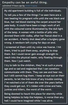 Empathy..