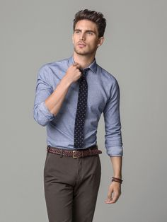 SLIM FIT OXFORD SHIRT by Massimo Dutti.  This was my take home selection!  Elevating my game.