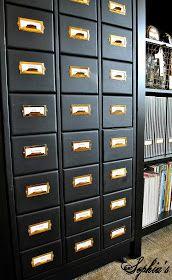 Sophia's: Organized Craft Cabinet