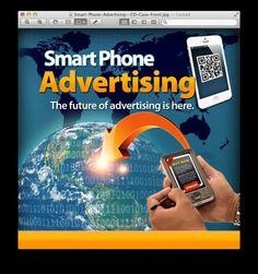 Smart Phone Advertising Cd Cases, Marketing Tools, Smartphone, Advertising