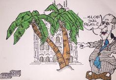 Duomo, ma che due …palme-vignetta by Sergio Sarri