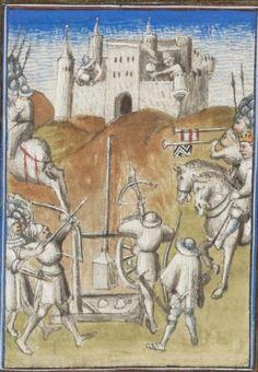 Manuscript BG Latin 54 Conjuration de Catilina / Guerre de Jugurtha Folio 44r Dating 1420 From Frankreich (exact location unknown) Holding Institution Bibliothèque de Genève