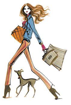 Henri BendelHenri Bendel #HB Henri Bendel #henribendel #illustrations #wendyheston likes #shopbendel #charmiesbywendy loves #henribendelilustrations