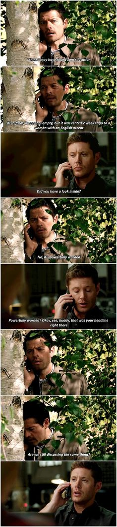 12x01 Keep Calm And Carry On- Dean and Castiel