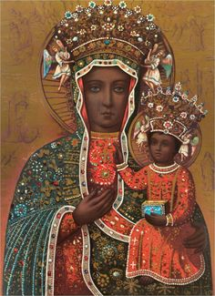 13 Blessed Depictions of Black Madonna from Around the World