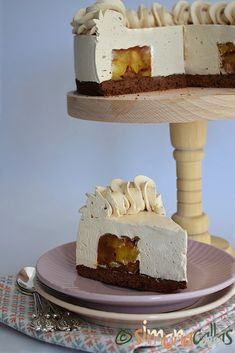 Tort Entremet cu mere si caramel - un desert rafinat - simonacallas Nutella, Pasta, Cake Cookies, Vanilla Cake, Mousse, Cheesecake, Deserts, Food, Cakes