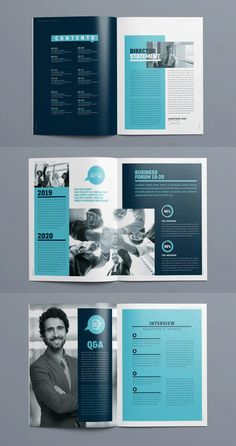 Brochure Design Layouts, Template Brochure, Page Layout Design, Graphic Design Brochure, Corporate Brochure Design, Magazine Layout Design, Web Design, Magazine Page Layouts, Brochure Cover Design