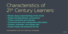 15 Characteristics of a 21st-Century Teacher: http://edut.to/1Le5gZs. #21stedchat
