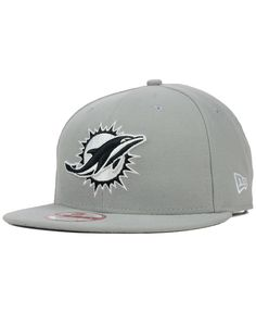 New Era Miami Dolphins Gray Black White 9FIFTY Snapback Cap Men - Sports  Fan Shop By Lids - Macy s 5a5597abcb10