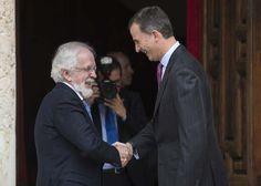 Felipe VI entregó a Forges el  Premio Iberoamericano de Humor Gráfico 'Quevedos'