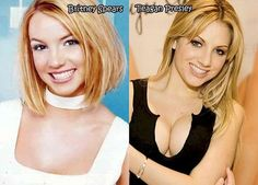 Celebrities and their Pornstar Twins ○ Britney Spears & Teagan Presley: