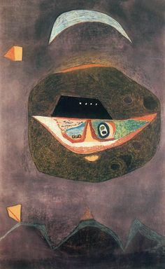 Mask with Moon Vajda Lajos · 1938