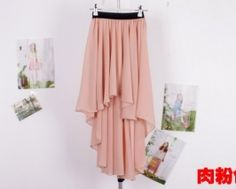 This 2014 Hot Sale Fairy Chiffon High Waist Ankle-Length Skirt is a strong spring signature.With Swallow Tail to design,it is perfect with platforms for a slim silhouette,also makes you have an unique sense of glamour and update an everyday look. Long Chiffon Skirt, Long Maxi Skirts, Sheer Chiffon, Chiffon Fabric, Chiffon Dress, Summer Skirts, Girls Bridesmaid Dresses, Bridesmaids, Ankle Length Skirt