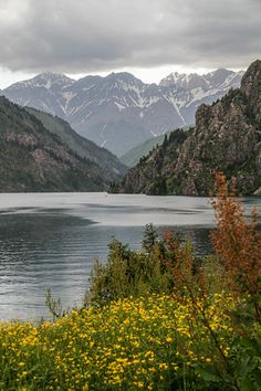 Stunning Sary-Chelek Lake in Kyrgyzstan