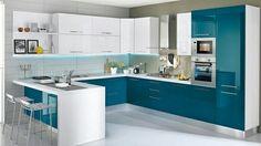Ideas For Kitchen Pantry Cupboard Designs New Kitchen Designs, Kitchen Room Design, Kitchen Cabinet Design, Modern Kitchen Design, Kitchen Colors, Kitchen Modular, Modern Kitchen Cabinets, Smart Kitchen, Kitchen Island