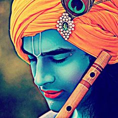 Krishna's simplest accessories: a peacock feather afm a flute ... janamashtmi India