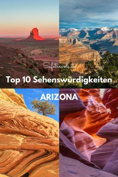 Arizona, we love you - unsere Top 10 Sehenswürdigkeiten in Arizona. Grand Canyon, Monument Valley, The Wave, Antelope Canyon, Page, Phoenix, Sedona, Apache Trail, Saguaro