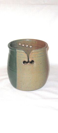 Large Yarn Bowl, Knitting Bowl, Ceramic Yarn Bowl, Pottery Yarn Bowl, Yarn Holder