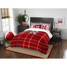 Use this Exclusive coupon code: PINFIVE to receive an additional 5% off the Nebraska Cornhuskers Full Embroidered Comforter Set at SportsFansPlus.com