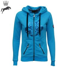 Spooks Ocean Allegra Hooded Jacket -    Was £65.99, Now £55.00    Shop this stunning hoody here:    https://www.equiport.co.uk/products/leisure-wear/hoodies-and-fleeces/allegra-hooded-jacket-sp69/    #Equestrian #Equiport #SummerSale #SalePick