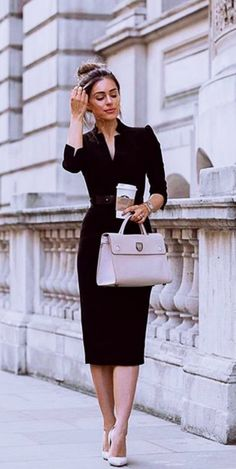 45 Trendy Business Casual Work Outfits for Women - OutfitCafe - Summer Work Outfits Stylish Work Outfits, Work Casual, Classy Casual, Office Wear Women Work Outfits, Corporate Outfits For Women, Classy Outfits For Women, Classy Chic, Classy Style, Work Clothes Women