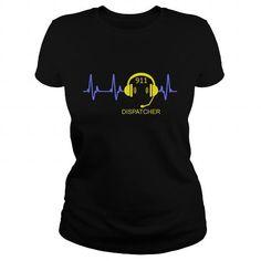 DISPATCHER HEARTBEAT T-Shirts & Hoodies