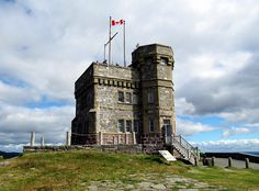 Been here, love that. Historic Cabot Tower, Signal Hill National Historic Site, St. John's, Newfoundland, Canada