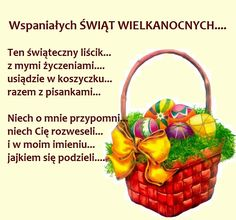 Wicker Baskets, Anna, Google, Polish, Easter Activities, Studying, Woven Baskets