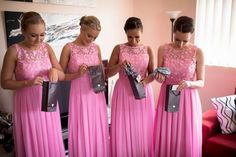 Bridesmaids at Renee's wedding~ They look so beautiful!!!