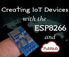 In case you hadn't heard, the internet of things is king of a big deal. Rather than bore you with the predictions of how many billions of devices will be connected in the next few years, I'm going to show you how to easily create an IoT device using the awesome ESP8266 WiFi module and connect that device to anyone, anywhere, in real time with the power of PubNub.Many projects incorporating the ESP8266 use it as an external module, communicating over a serial port with a complex set of AT…