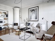 Turn of the century home with modern details