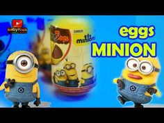 New on my channel: Opening Kinder Eggs - Minions Remix - Minion Banana - Surprise Eggs www.babykidsplayouse.com  https://youtube.com/watch?v=agYPDlbcVkQ