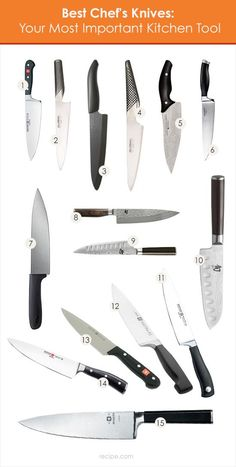 These are the best chef's knives on the market today.