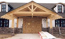 chinese timber frame architecture | in Ballston Spa, N.Y., won a 2008 Veterinary Economics Hospital Design ...