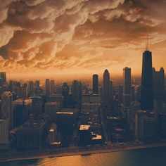 ...#swopes #OutlineTheSky #Chicago #Chi #Chiraq #RepYourCity #OwnTheSky  Photo: @swopes