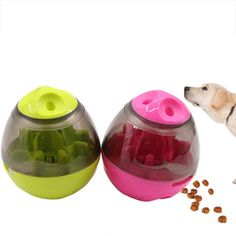 Buy Interactive Dog Food Treat Ball Bowl at www. Food Treat, Natural Disasters, Dog Food Recipes, Fishing, Minimal, Treats, Jewellery, Store, Makeup