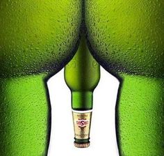 Funny Beer Advertising...for Males only!
