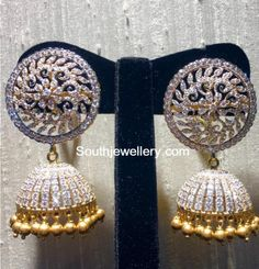 Diamond Jhumkas photo