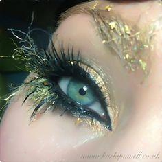 Gold Fleck Eyes by Karla Powell
