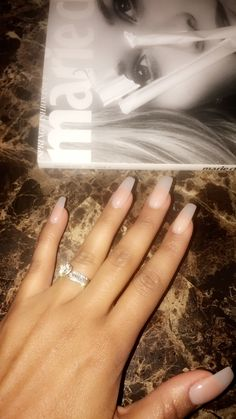 """OPI """"Put It In Neutral"""" Neutral nails Nude nail polish Coffin nails Acrylic nails"""