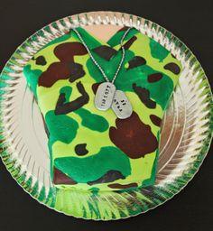 Tarta Camuflaje