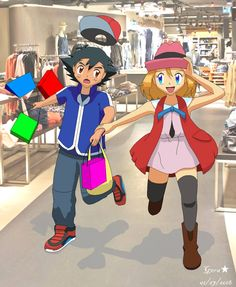 Amourshipping Ash X Serena: Another day with you by Pokemon Ash And Serena, Pokemon Oc, We Make Up, Ash Ketchum, Happy New Year 2019, Coming Home, Anime Comics, My Hero Academia, Cuddling